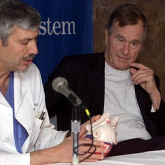 Bush's former doctor shot and killed while riding bike in Houston