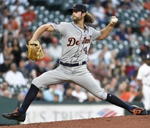 It was a curious start for Tigers pitcher Daniel N...