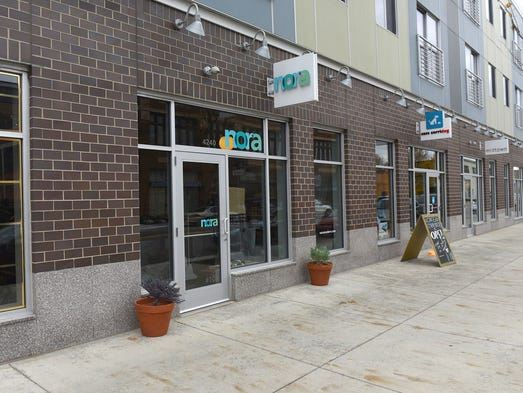 Nora, a modern housewares store in Midtown, Detroit,