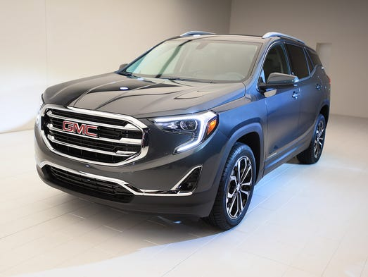 General Motors shows of the all new 2018 GMC Terrain