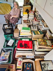 Crystal Zevon is hoping the sale of former husband Warren Zevon's book collection will help finance the operations of Brookview R&R, a community center she hopes to establish in a century-old house next to her home in West Barnet. Seen on Wednesday, June 28, 2017.