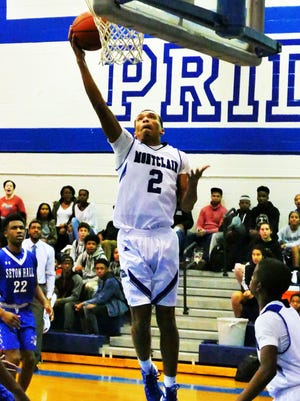 Ivan McDaniel had 10 points and eight rebounds for Montclair against Seton Hall Prep.