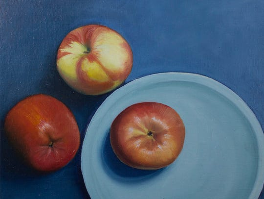 """Three Apples"" by Margaret Ryan"