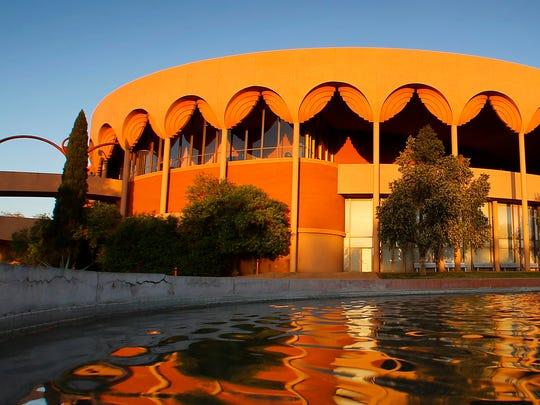 Grady Gammage Memorial Auditorium is considered to