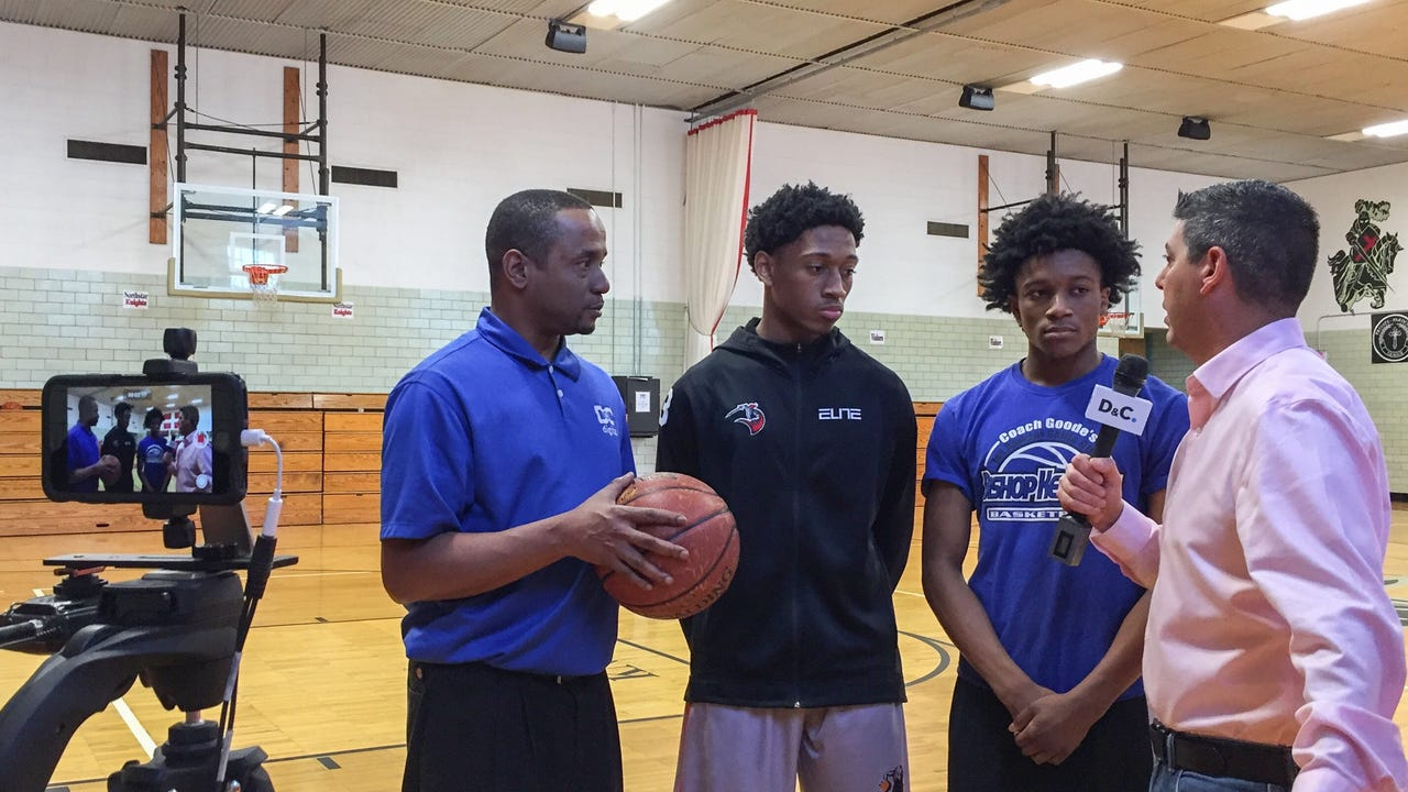 Jeff DiVeronica and James Johnson travel to Northstar Christian Academy to preview the Knights' matchup against Leadership Academy, Thursday, Feb. 15, 2018.