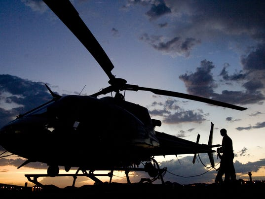 Phx PD Helicopter History