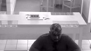 Seaford Police are seeking this man in connection to a robbery of a bank Friday morning.