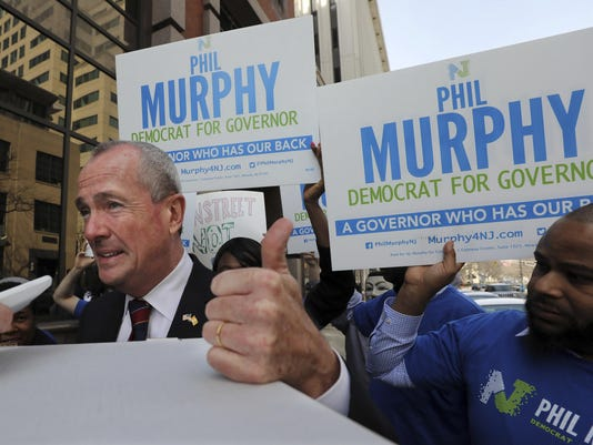 New Jersey Governors Race
