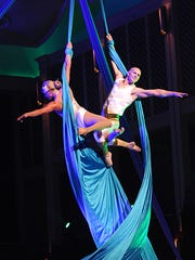 Cincinnati Pops and Cirque de la Symphonie bring music and high-flying acts to Music Hall March 9-11.