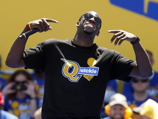 Draymond Green sued by ex-Michigan State football player, girlfriend over 2016 incident