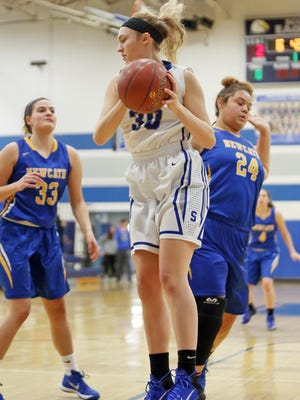 Anna Clephane, along with teammate Lexie Stapleton, are a pair of juniors who have Scott on the verge of a district title.