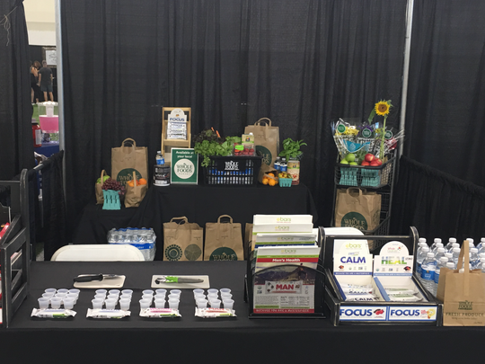 When Whole Foods had to pull out of the Music City Fit Expo in Nashville recently, they asked eBars to fill in and take their space.