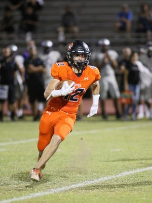 Ricky Pearsall, a receiver from Corona del Sol HIgh School, will stay in Tempe for college as he has committed to Arizona State.