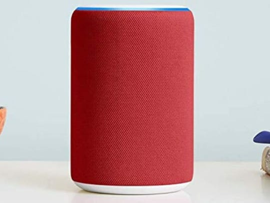 The Amazon Echo (third-generation) is sold in five colors including red.