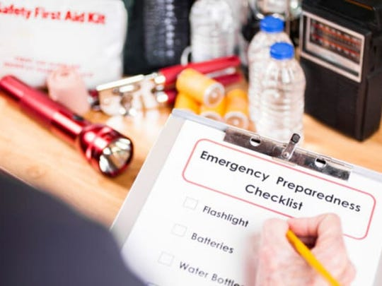 Flashlights, a weather radio, and batteries are common hurricane supplies to keep in your emergency kit.