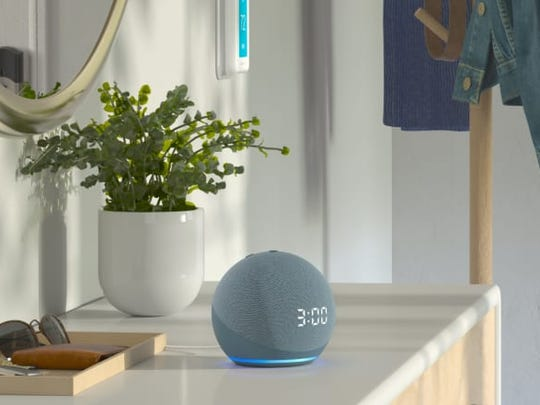 The new Echo Dot borrows the orb design from the larger Echo, and you can get it with or without the clock display.