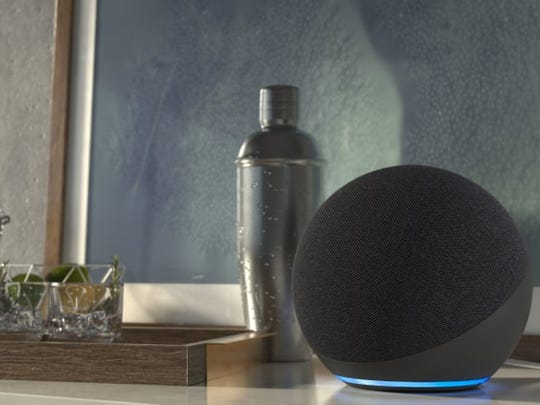 It doesn't get more minimal than the Echo's new, round form factor.