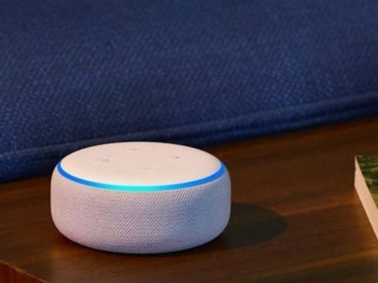 Upgrade their home with the Amazon Echo Dot.