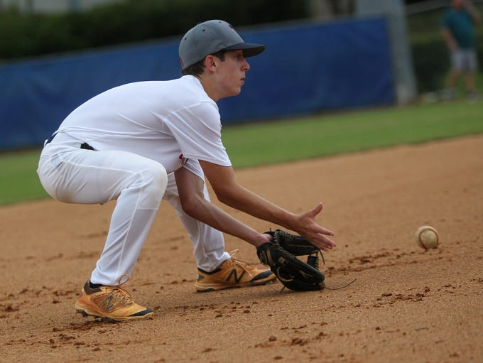 Tallahassee-Leon Babe Ruth's 14U all-star team practices
