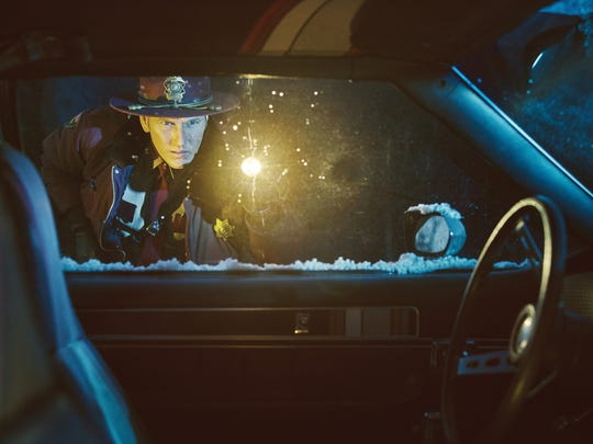 "Patrick Wilson as Lou Solverson in the second season of ""Fargo."""