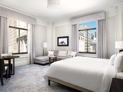 Here Are Hot Hotel Renovations Across The Country Magnificent Las Vegas Hotels Suites 3 Bedroom Exterior Remodelling