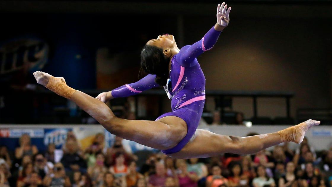 Armour Gabby Douglas Hoping To Make Gymnastics History