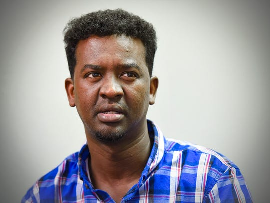 Abdikarim Osman Omar talks about the trouble he is