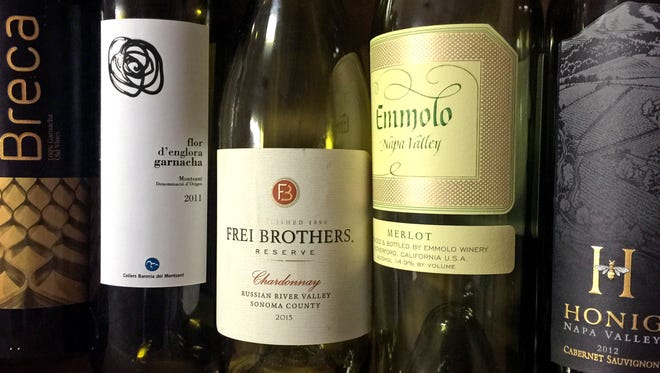 Sometimes, it's fun to open several different bottles of wine, especially when guests visit.