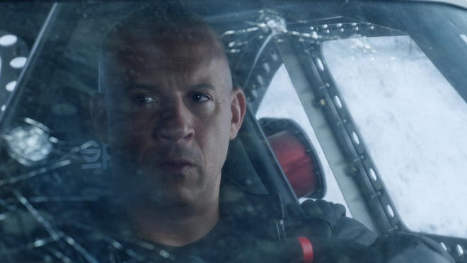 "Vin Diesel in ""The Fate of the Furious."""