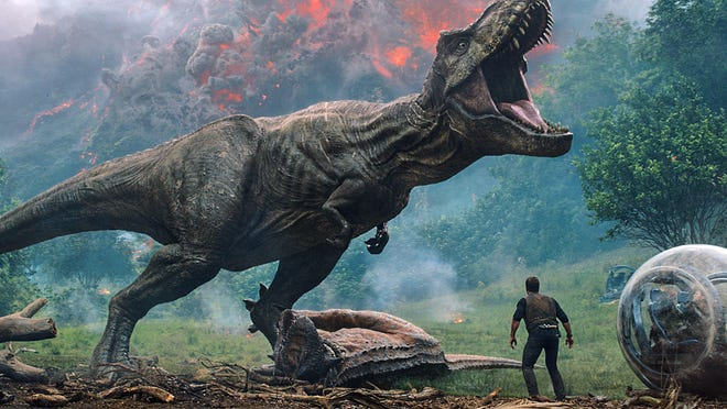 """Jurassic World: Fallen Kingdom"" hits theaters on Friday."