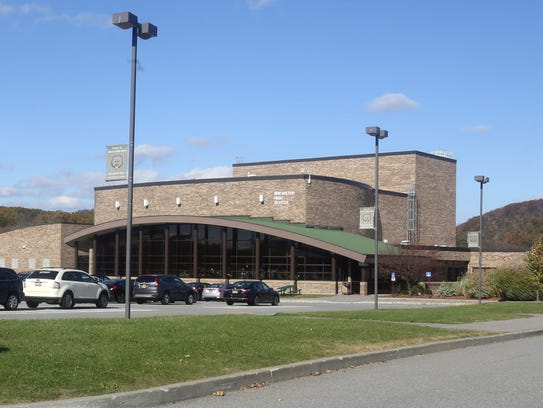 Brewster High School, photographed Oct. 31, 2017.