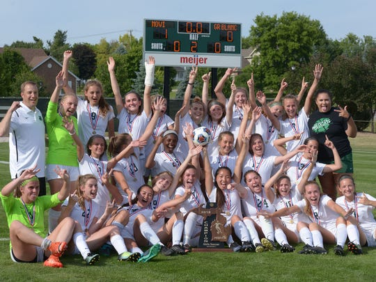 Novi captures Div. 1 state title with 1-0 victory of Grand Blanc June 15 at Willimaston High School.