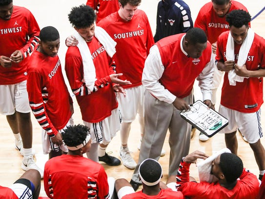 Now in his fifth season, Jerry Nichols has the Southwest Tennessee basketball team on track for a spot in next month's national junior college tournament.