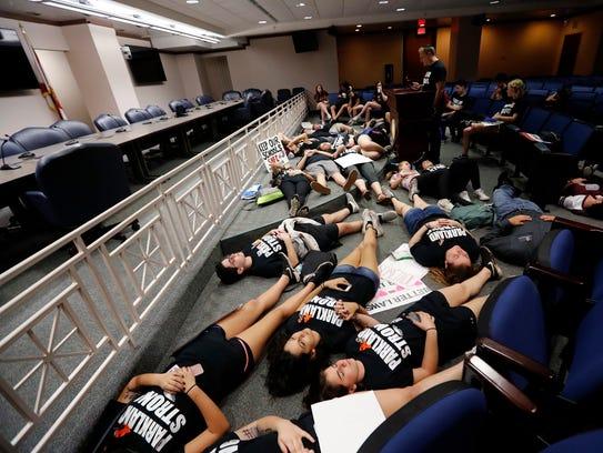 Seventeen student survivors from Marjory Stoneman Douglas