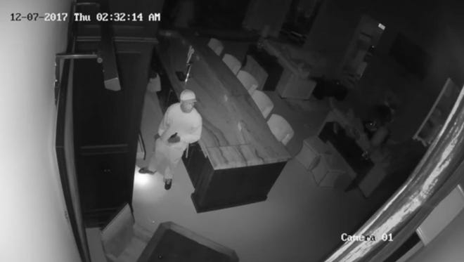 Southwest Florida Crime Stoppers is asking for the public's help identifying what appears to be four young men who broke into a newly constructed North Naples home last month.
