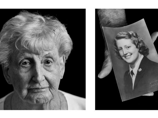 Charlotte Bart is one of the subjects of Richard Bell's book of World War II veterans. She served in the Coast Guard during the war.