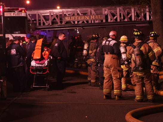 Suffern car fire spreads to homes