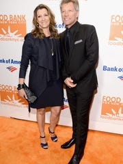 Jon Bon Jovi and wife Dorothea Hurley attend the Food