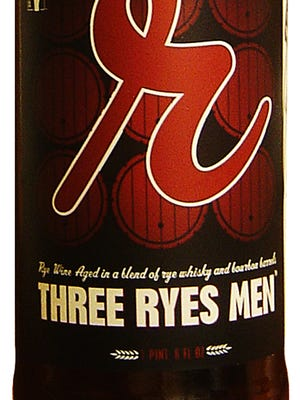 Three Ryes Men, from Reuben's Brews in Seattle, is 12.2% ABV.