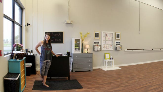 Katie Crow has opened Uplift Fitness Center in Grimes.