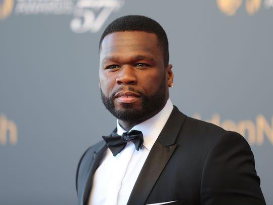 Actor/rapper 50 Cent