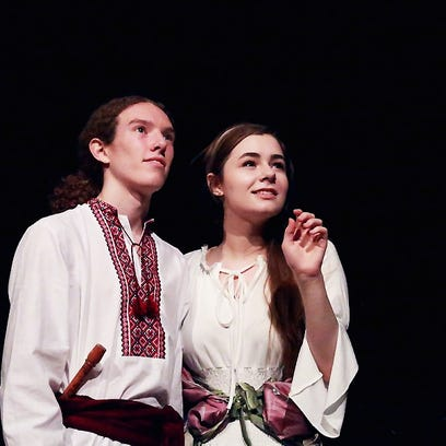 Lucien Caro and Citori Luecht play young lovers in