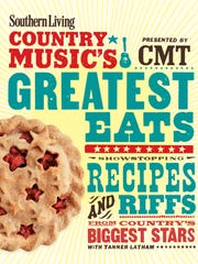 "This image released by Oxmoor House shows the cover of the book ""Country Music's Greatest Eats."" The book is a collaboration of Southern Living magazine and Country Music Television."