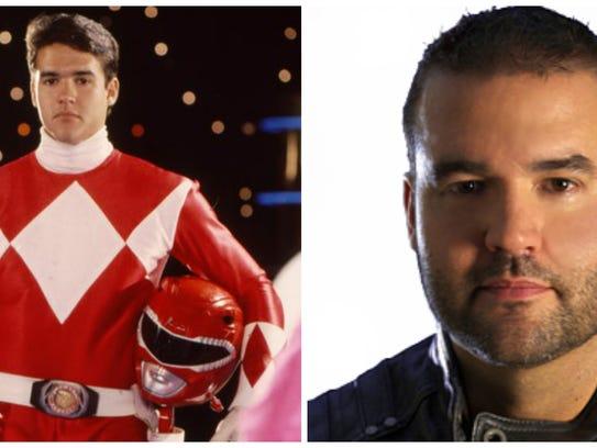 Austin St. John, the original Red Power Ranger, then