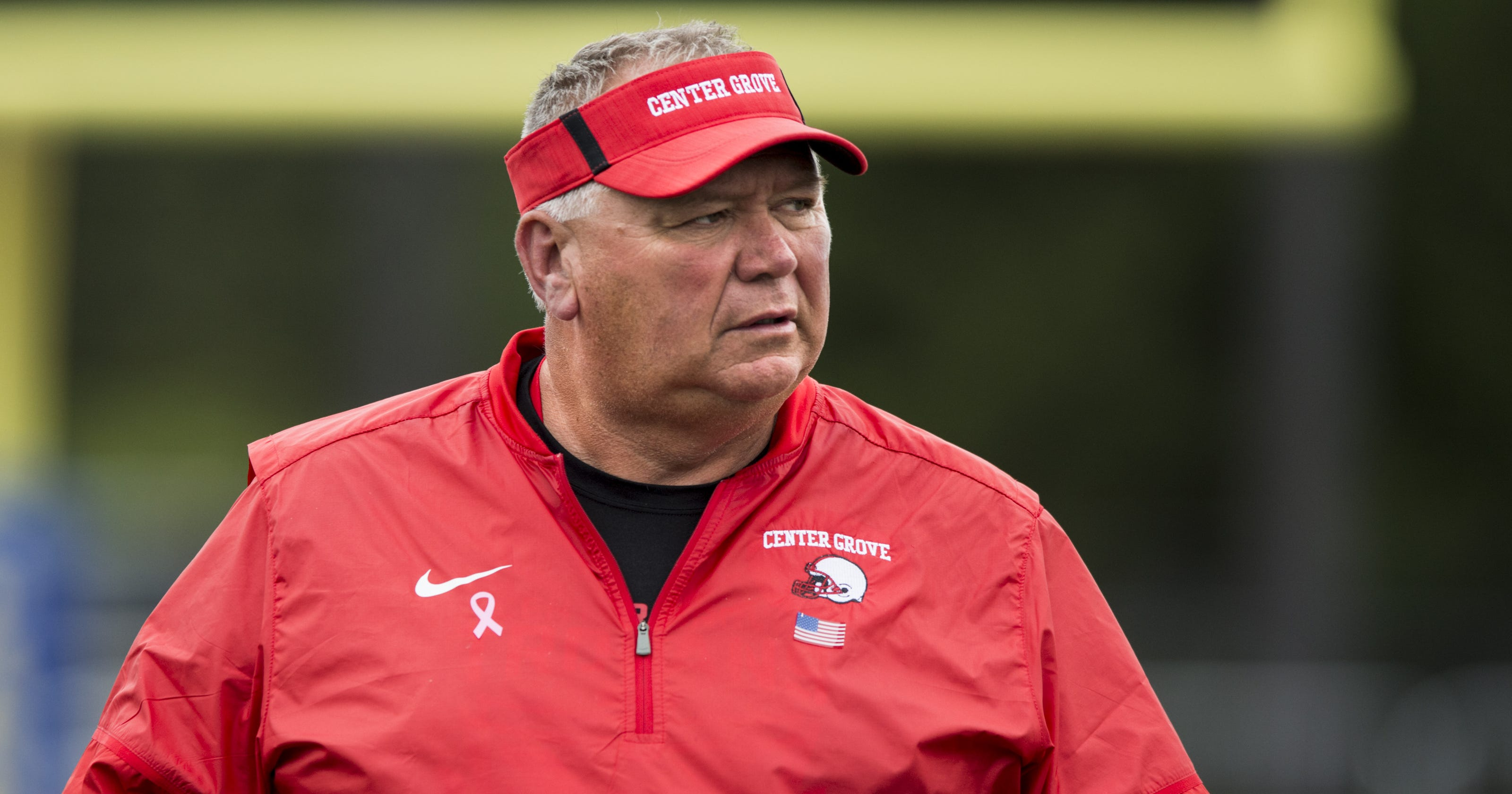 257209b3 Center Grove football coach under investigation following allegations of  verbal abuse, district says