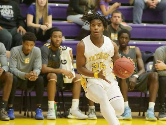 Tamaje' Blackwell averaged 10.2 minutes per game with Dodge City, which finished 8-23.
