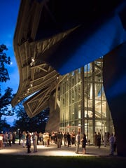 The Frank Gehry-designed Richard B. Fisher Center for
