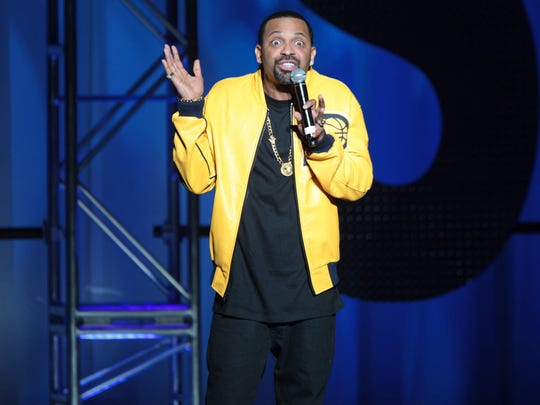 Comedian Mike Epps performed at the Old National Centre in Indianapolis on March 8, 2013.