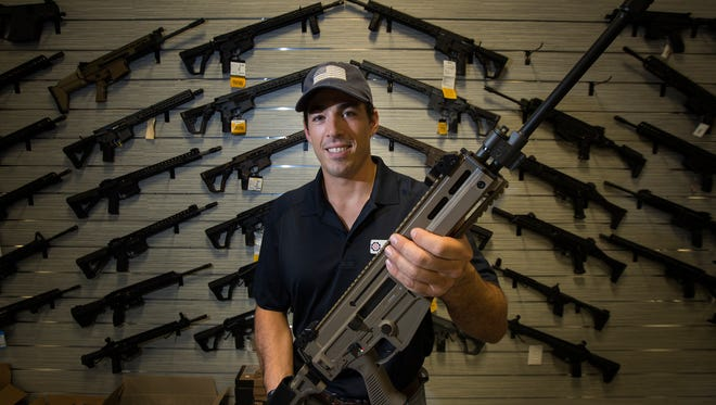 Aaron Forum is the owner of  Shoot Center, new gun store and shooting range located in Cape Coral. The store is scheduled to open June 10 on Del Prado Blvd.  Forum is a former Green Beret turned gun instructor who's toured the nation.