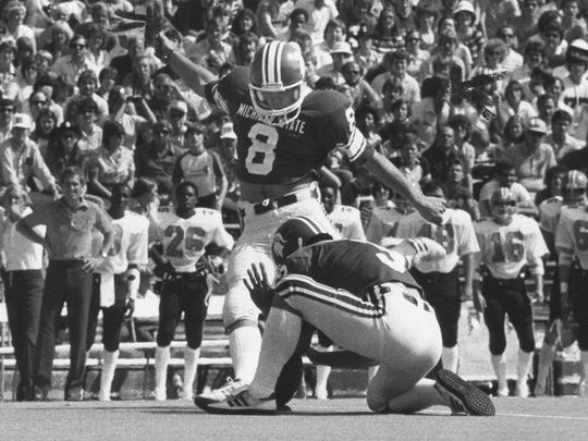 Morten Andersen was an All-American kicker at Michigan State in 1981.